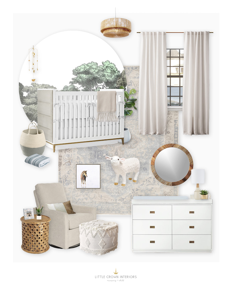 Gender Neutral Nursery E-Design