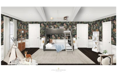 A Modern Woodland Boy's Room Design Reveal
