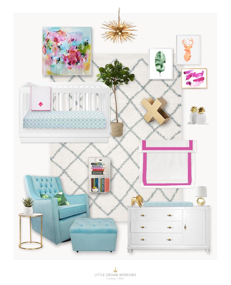 Jessi Malay's Nursery | Little Crown Interiors