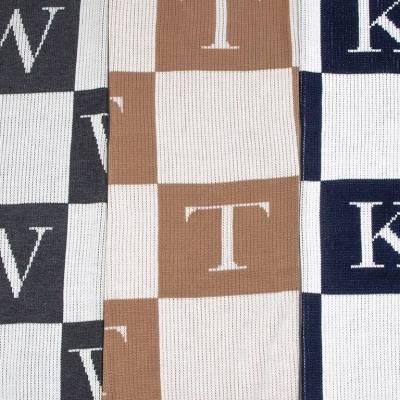 Custom Monogram Baby Blanket