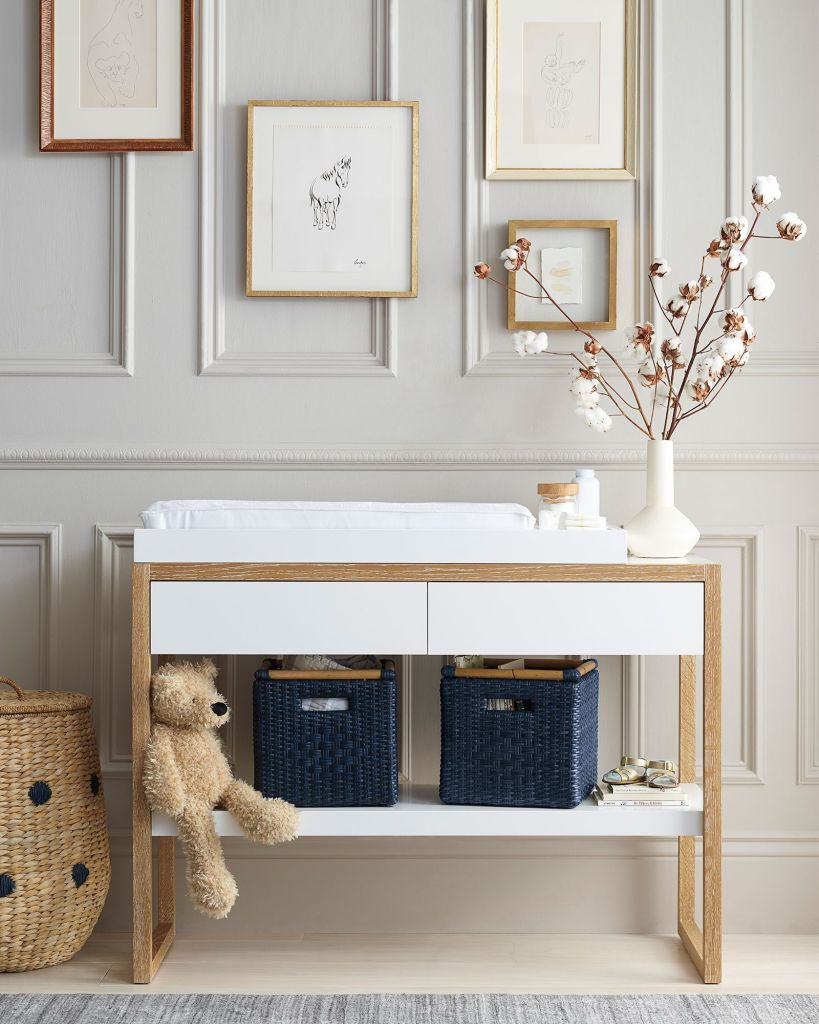 Small Space Nursery Changing Table
