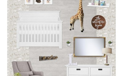 Get the Look: Sophisticated Neutral Safari Nursery