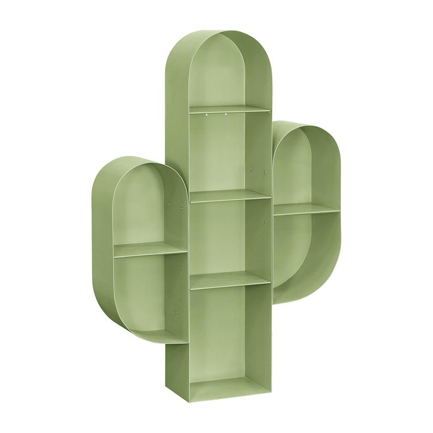 Green Cactus Bookcase