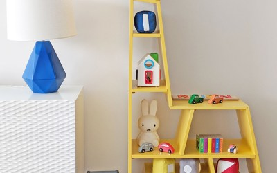 Fun Bookcases Add Whimsy to a Nursery or Kid's Room