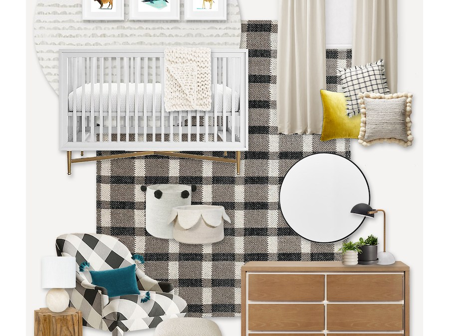 A Plaid Nursery Design (Not Just For Winter Babies)