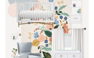 A Bee & Honey Themed Nursery E-Design Reveal