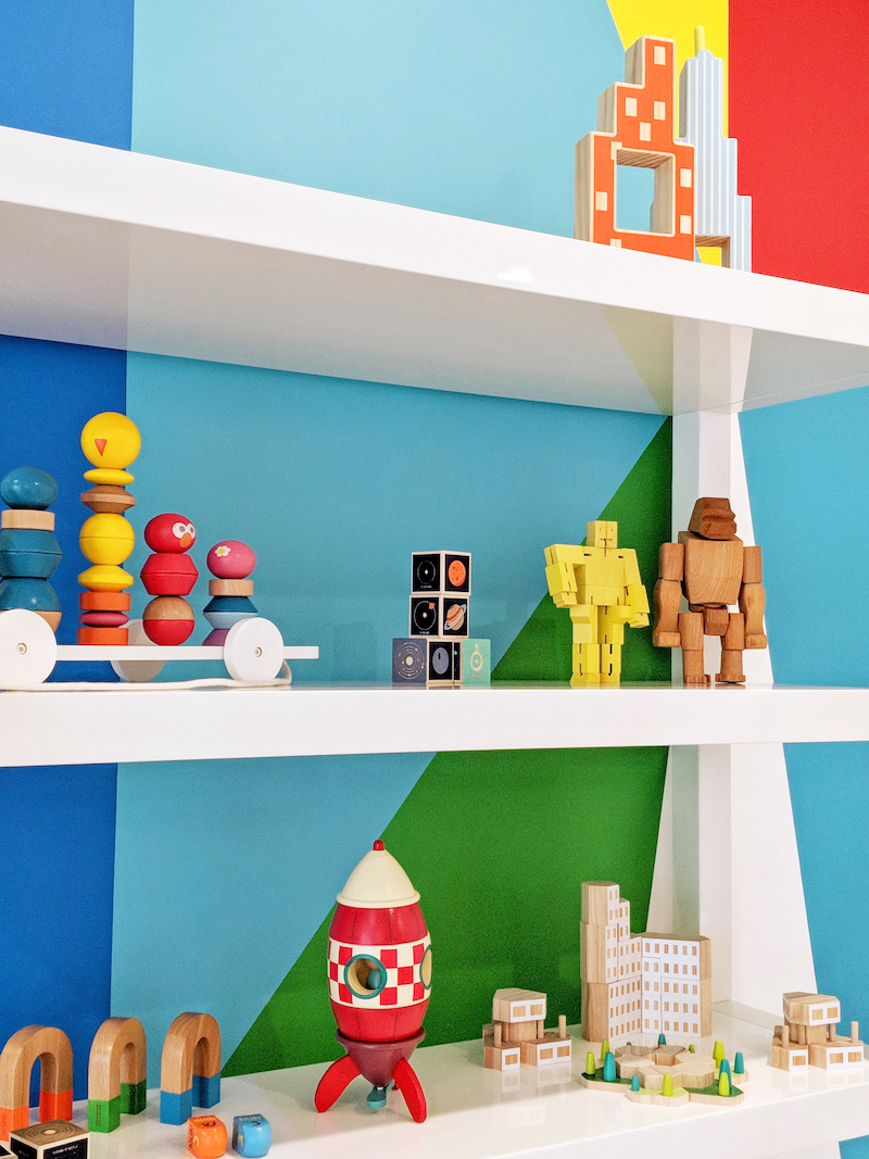 Colorful Modern Playroom Toys