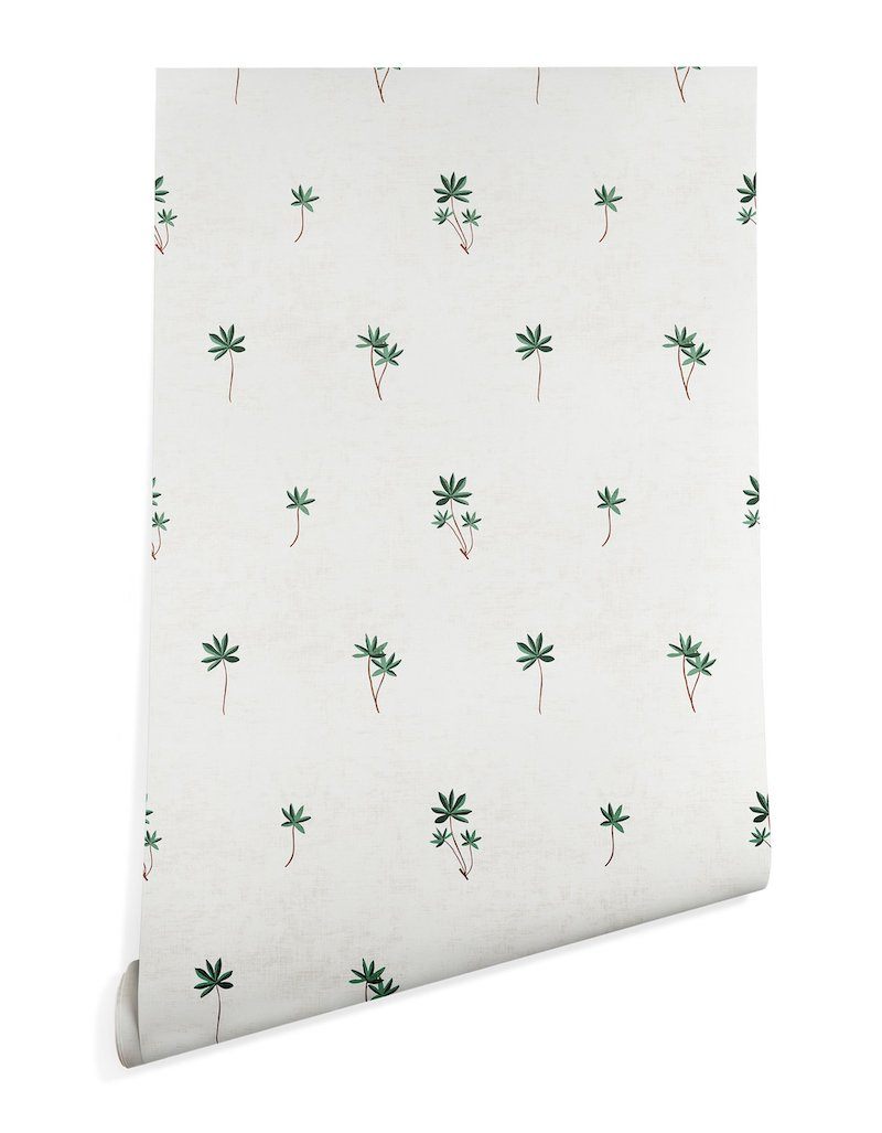 Removable Palm Tree Wallpaper