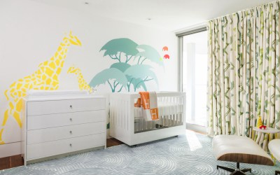 A Colorful Modern Safari Nursery Design Reveal