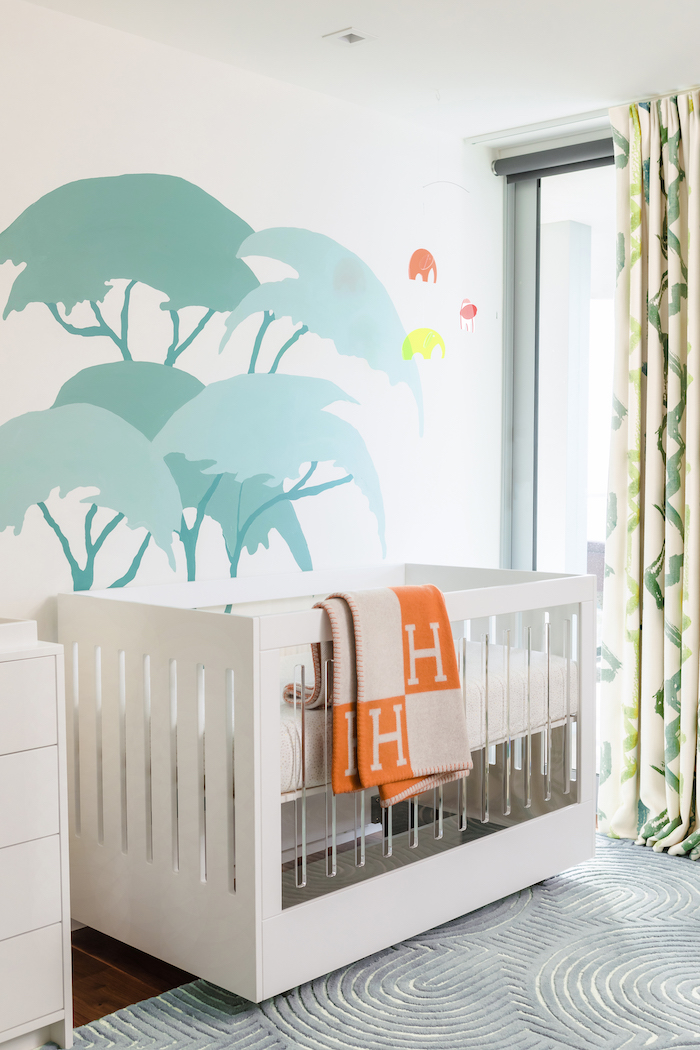 Colorful Safari Nursery Design by Little Crown Interiors