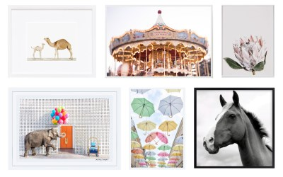My Favorite Photograph Prints for the Nursery