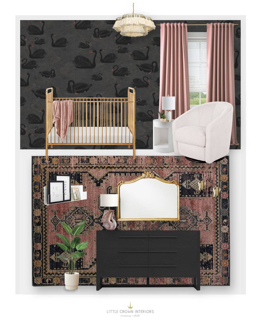 Black Swan Nursery E-Design