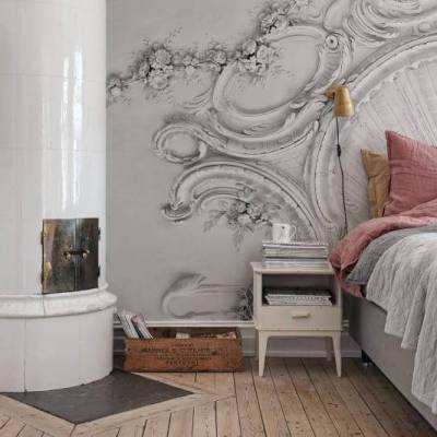 Ornate Moulding Wall Mural