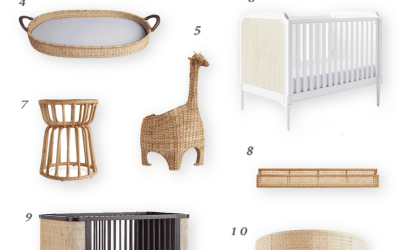 My Favorite Rattan Furniture and Decor for the Nursery