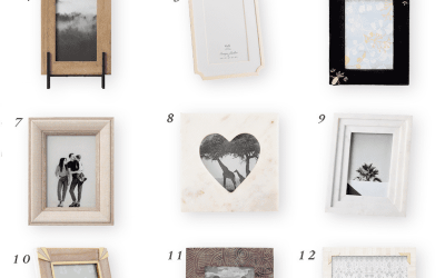 Small Picture Frames for the Nursery or Kid's Room
