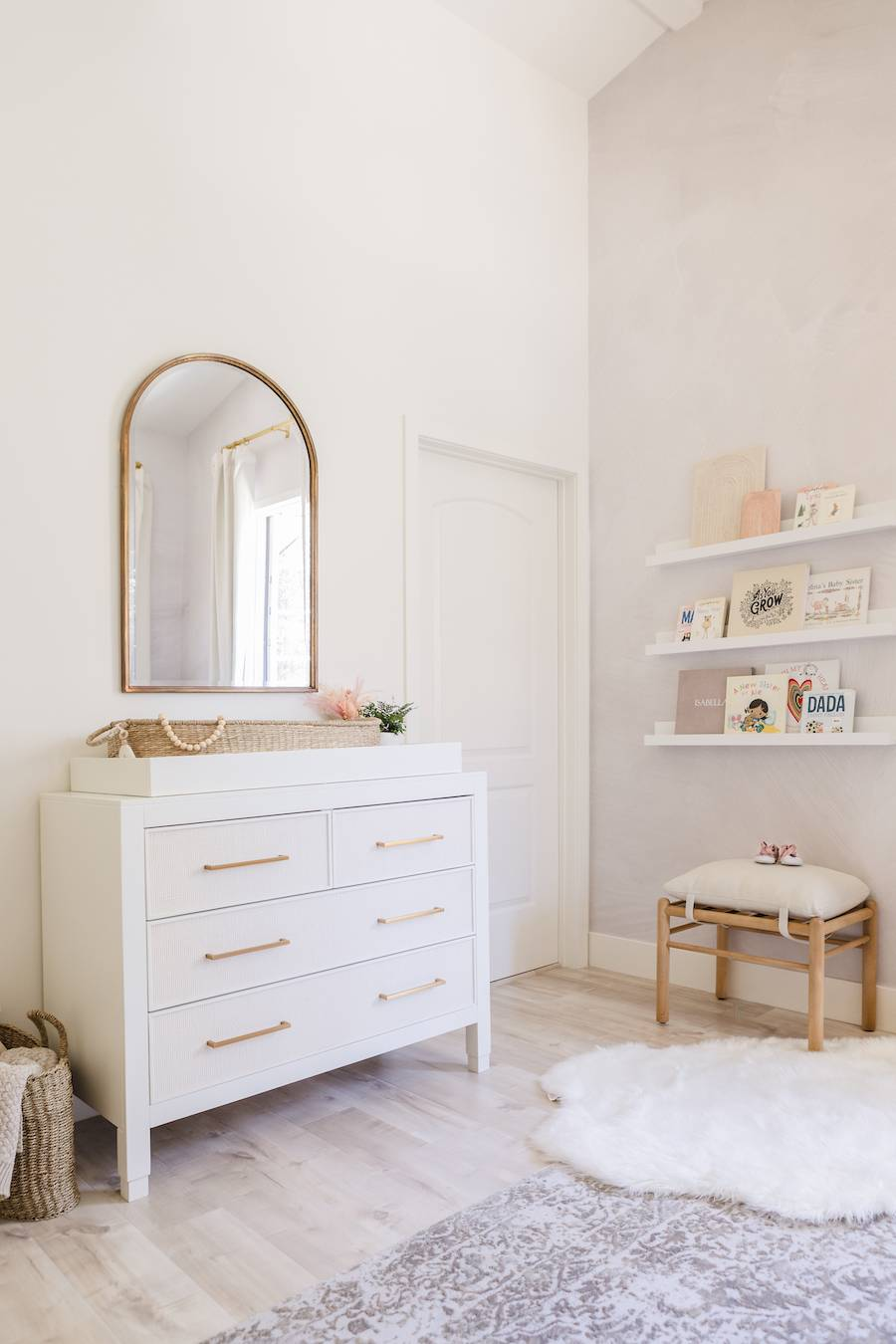 Natural & Neutral Nursery Changing Table