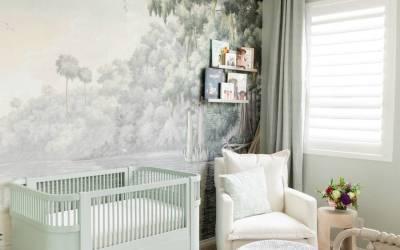 Nursery Reveal: A Soft Green Southern Inspired Nursery