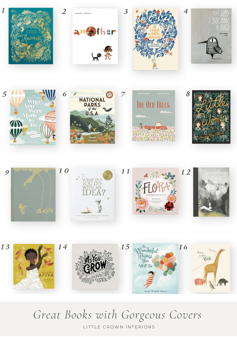 Pretty Books for the Nursery and Kids