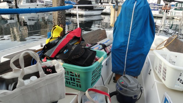 There is so much stuff on this boat!