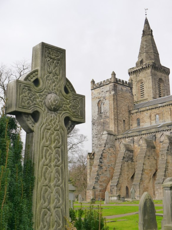 Dunfermline Abbey and friends.