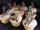Army Cupcakes 1
