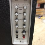 AKG BX15E Front Panel