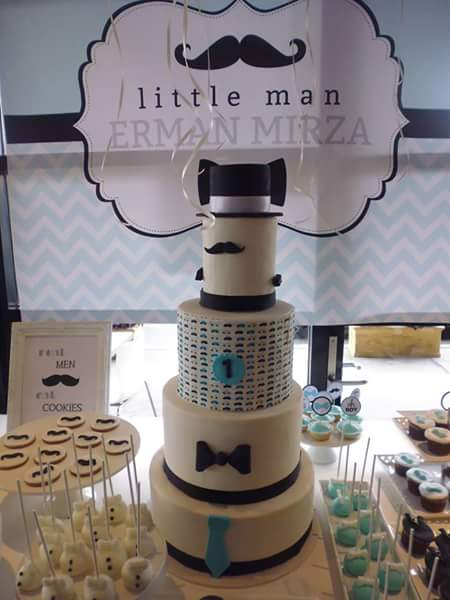 Little Man Mustache And Bow Tie Candy Buffet 1st Birthday Little Dimple Designs