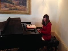 Not-a-victim: well-meaning professional pianist who has no idea she's got LDBC blood on her hands