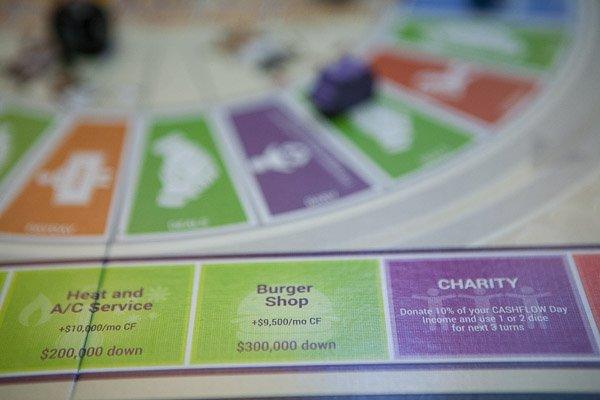 Teach real life financial skills with CASHFLOW