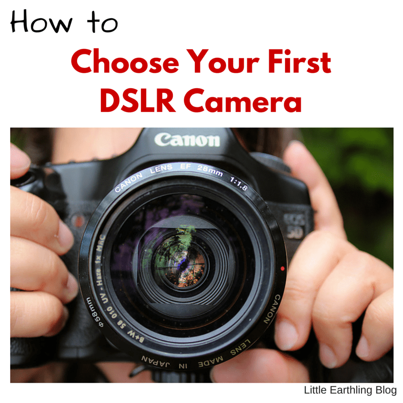 Choose Your First DSLR Camera