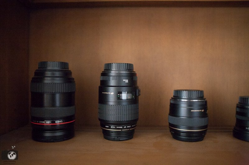 Clever Ideas for Storing Camera Lenses