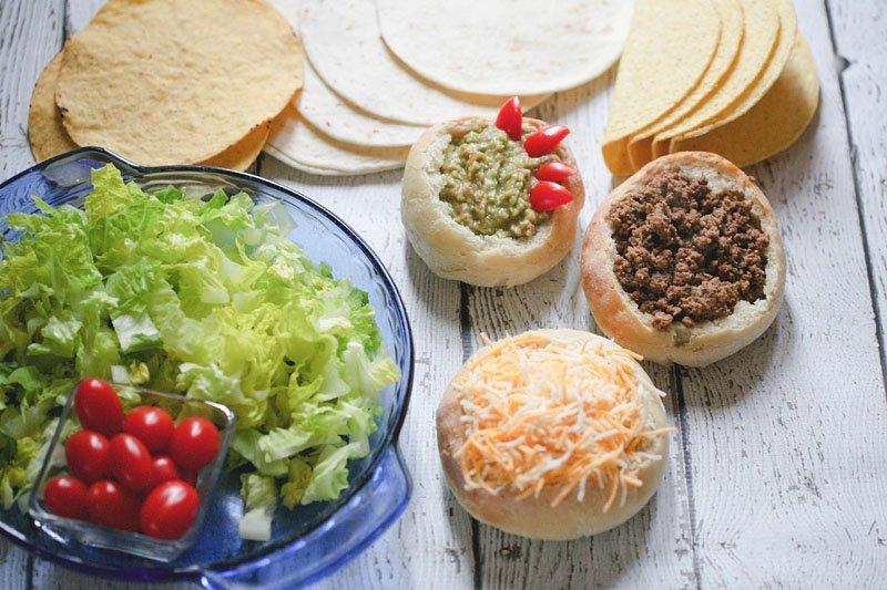 Sourdough Bowls for Taco Tuesday