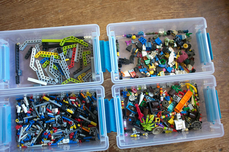 LEGO organizing ideas for real families.