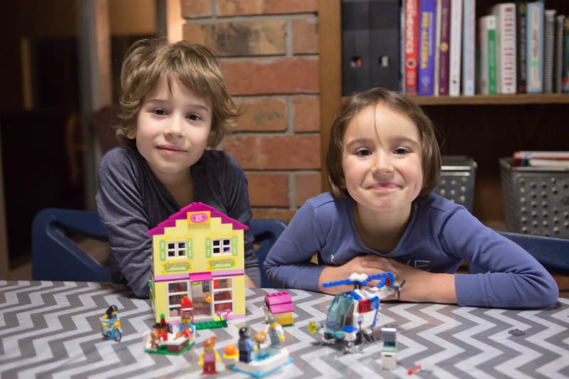 Building Independence One Brick at a Time {LEGO Juniors}