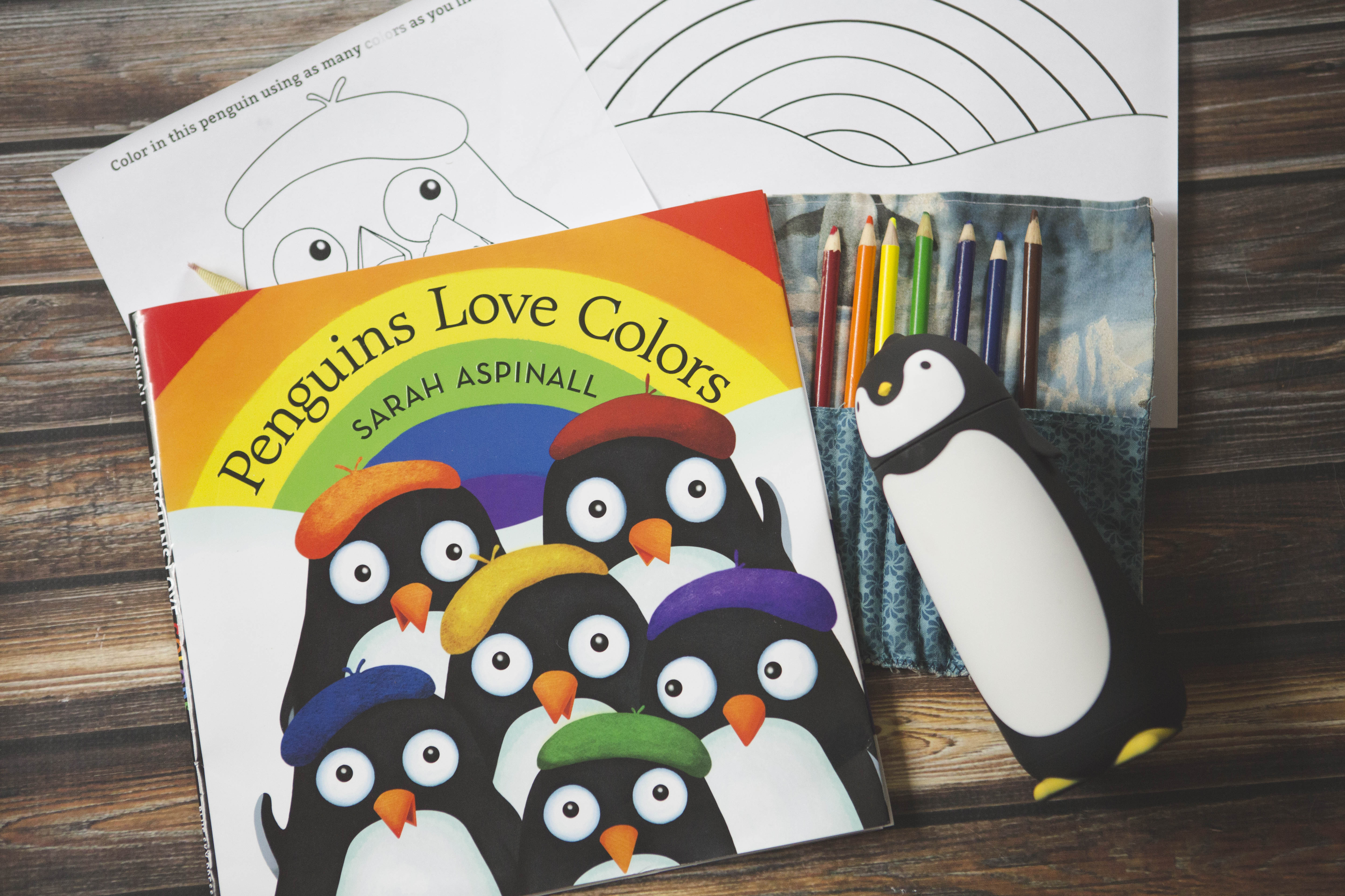Penguins Love Colors!