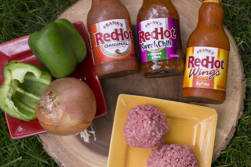 Enjoy the perfect family cookout with these Spicy Lettuce Wrapped Buffalo Burgers using Franks ReHot Buffalo Sauce