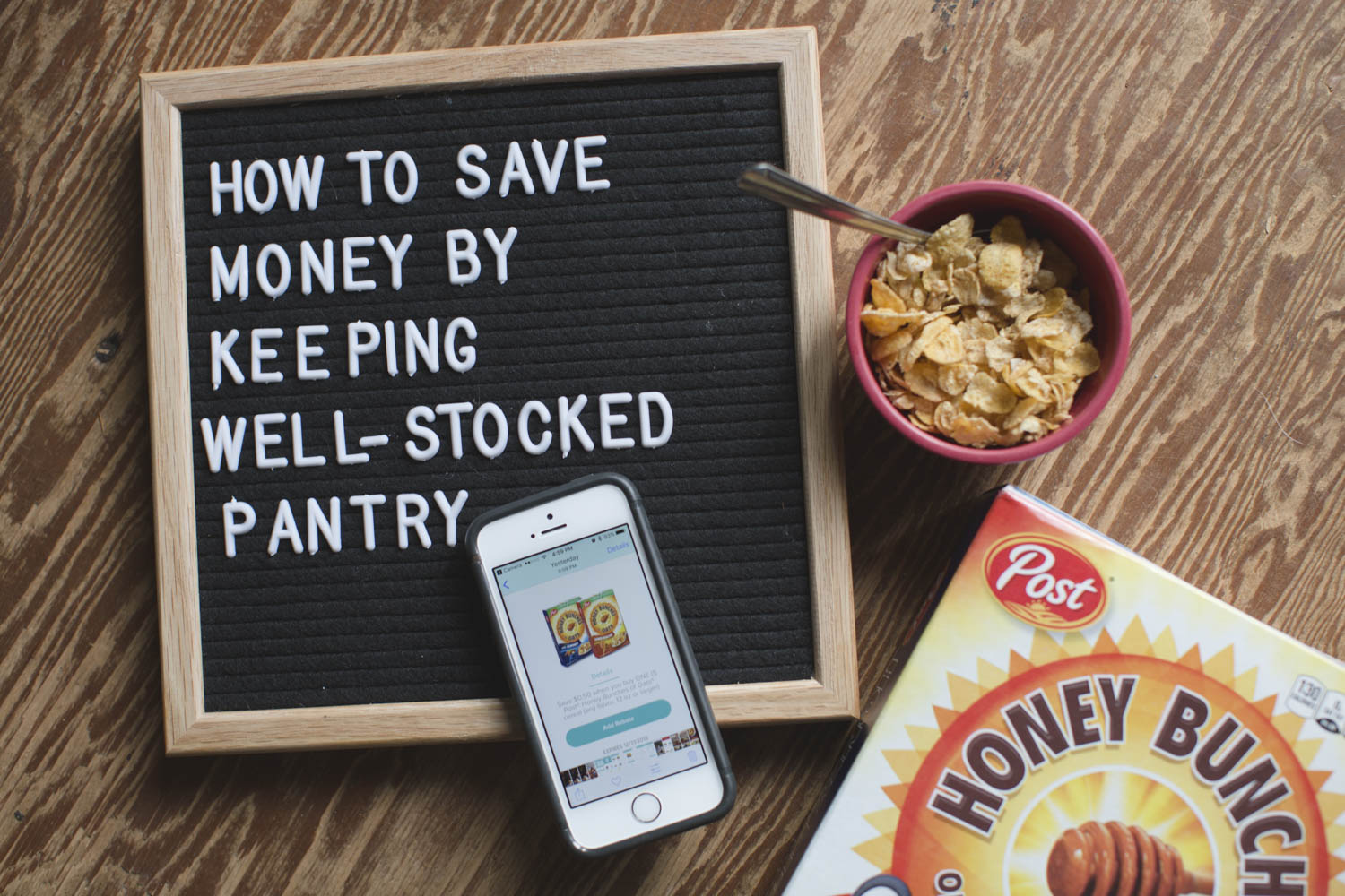 How to Save Money by Keeping a Well-Stocked Pantry {Large Family}