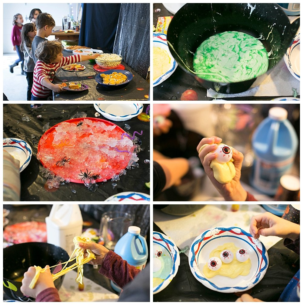 Fun science projects for Halloween parties.