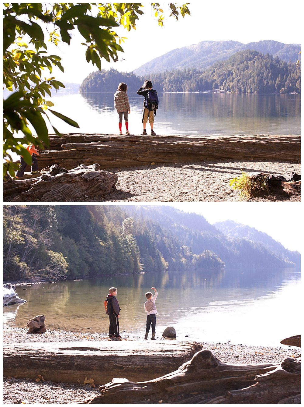 PNW homeschool hiking adventures. Our homeschoolers tackle North Lake Whatcom Trail.