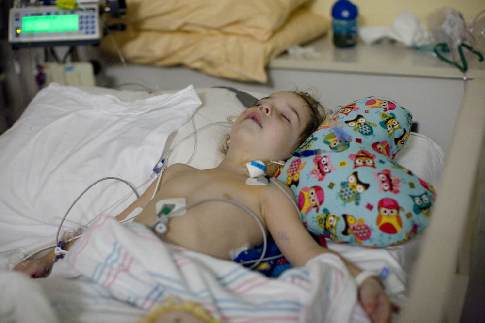 Five years ago Apollo had surgery to repair his double aortic arch at Texas Children's Hospital.