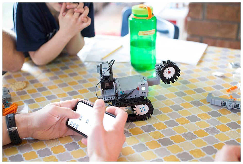 The JIMU robot will offer hours of fun, learning, and coding practice for your kids.