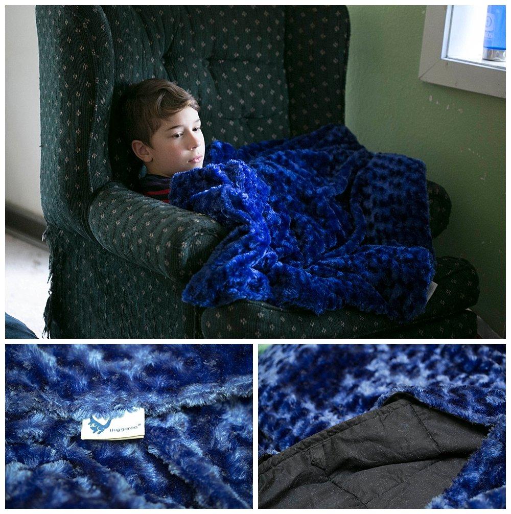 Huggaroo Weighted Blanket Review.