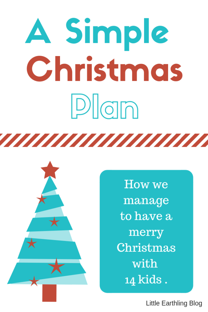 How to have a stress-free simple Christmas.