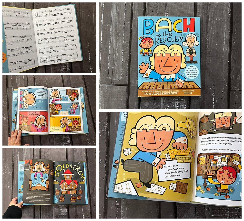 Bach to the Rescue book review.