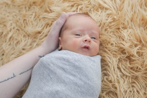 Harlan was born five weeks early, so he was nearly a month old by the time I got to do his newborn photos. bellingham newborn photography