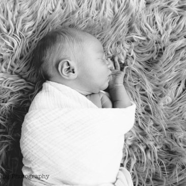 Asa {Rainbow Baby Newborn Photos}