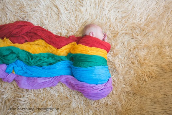 Asa is a very special rainbow baby born less than a year after his stillborn brother, Matthew.