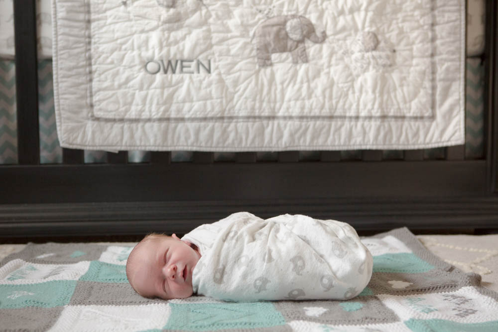 Bellingham newborn photographer, Renee Bergeron of Little Earthling Photography captures the natural beauty of babies in the comfort of their own homes.
