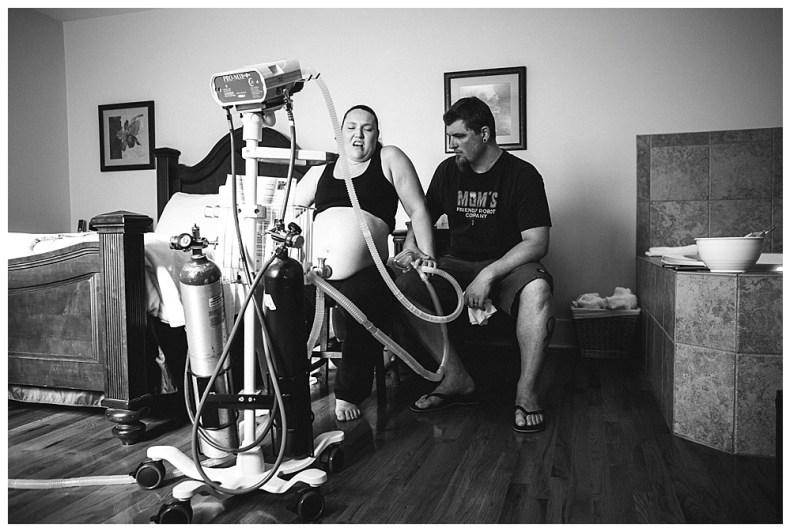 Mt Vernon Birth Photographer, Renee Bergeron, captures Alilish's beautiful birth center birth.