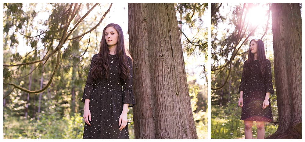 Senior photos by Bellingham photographer Renee Begeron of LIttle Earthling Photography.